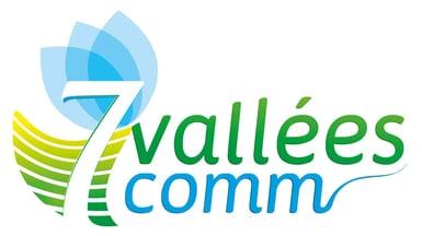 CC. 7 Vallées (62) - Logo - Officiel