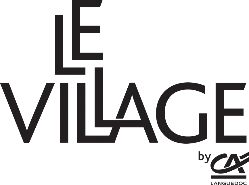 Logo Village by CA noir