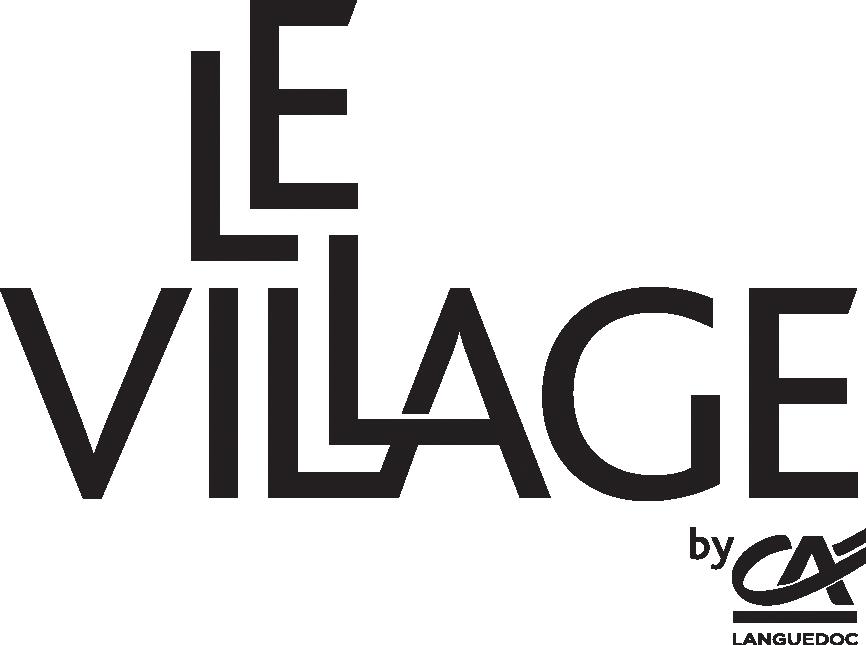 Logo Village by CA noir