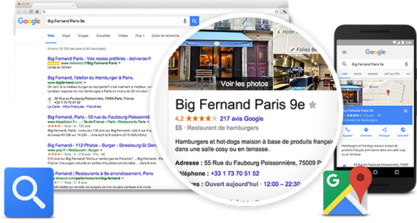 Plan d'actions - Google My Business