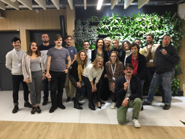 Keetiz et les start-up du Village by CA Languedoc s'engage pour Movember 2018